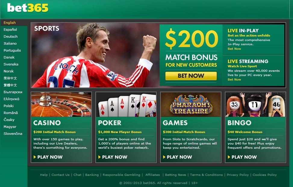 bet365 soccer
